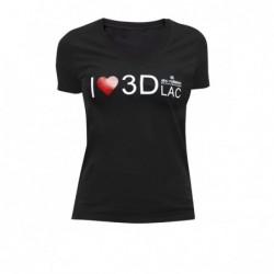 Damen T-Shirt 3DLAC
