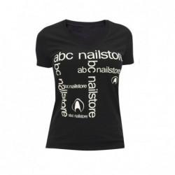 Camiseta abc nailstore mujer