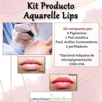 Kit Aquarelle Lips